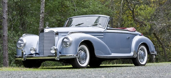 1956 Mercedes 300SC Cabriolet...I don't mind being the same age as this car...lol!