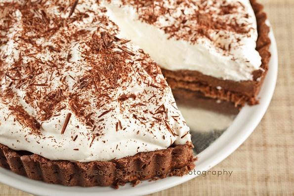 Chocolate Cream TartChocolates Cream, Holiday Recipe, Awesome Desserts, Cream Tarts