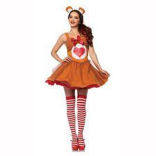 Care Bears Brown Tenderheart Bear Tutu Dress Adult Costume Leg Avenue CB85348
