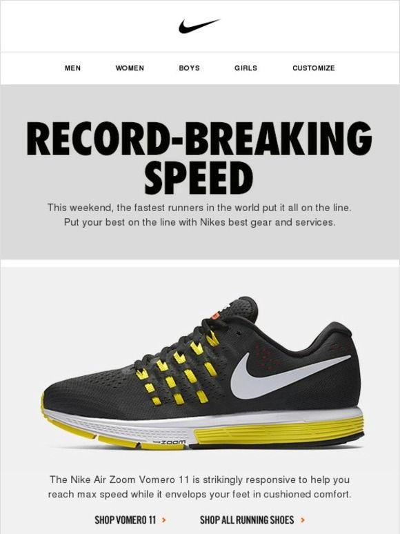 online store a6727 1ef08 Run Like a Champ in Nike Vomero 11 - Nike