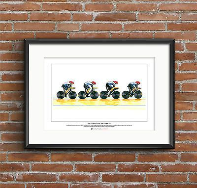 Team gb men's #cycling pursuit team 2012, #limited edition fine art #print a3 siz,  View more on the LINK: 	http://www.zeppy.io/product/gb/2/331537100451/