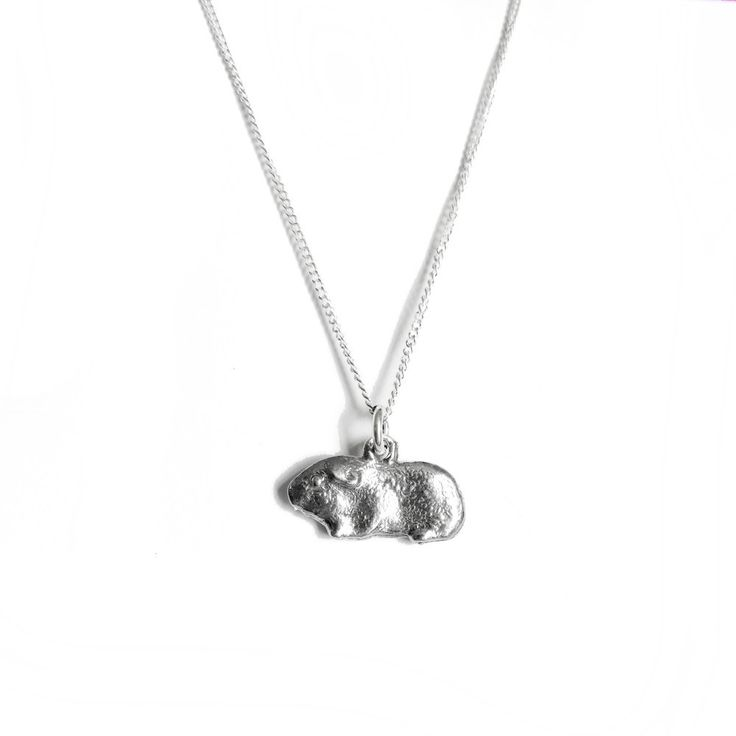 Gorgeous Guinea Pig Necklace, £14.00 by Cheap Frills