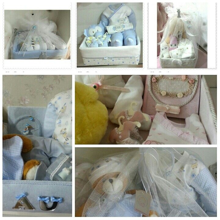 Bebek Hediye Sepetlerimiz Baby Gifts