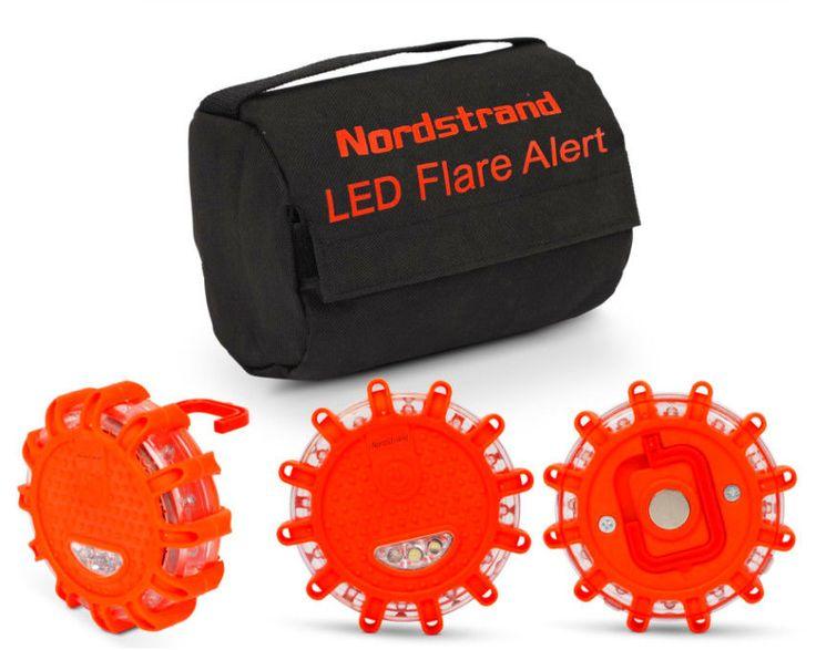 Nordstrand Nordstand Road Flares Roadside Flashing Emergency LED Lights Beacon #Nordstrand
