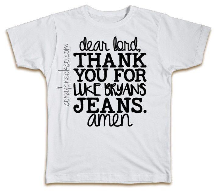 Luke Bryan's Jeans Farm Tour Shirt