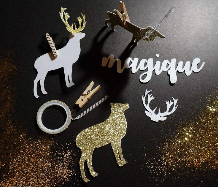 DIY Renne magique de Noël