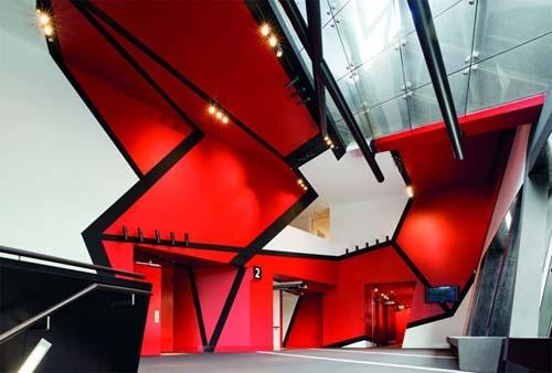 Melbourne theater by Ashton Raggatt McDougal Achitects