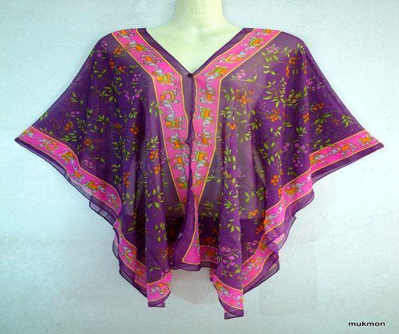 New Casual Kaftan Caftan Poncho Loose Tops Blouses Dress Tunic