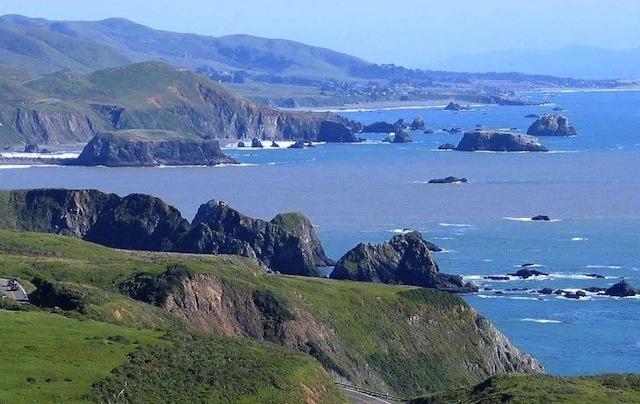 Côte Pacifique au nord de San Francisco