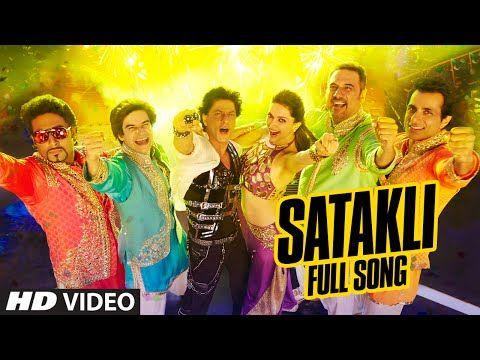 OFFICIAL: 'Satakli' FULL VIDEO Song | Happy New Year | Shah Rukh Khan | Sukhwinder Singh - YouTube
