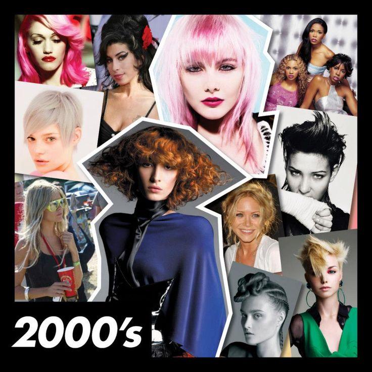 #ToniAndGuy's #00s collage #2000s #toniandguy50yrs