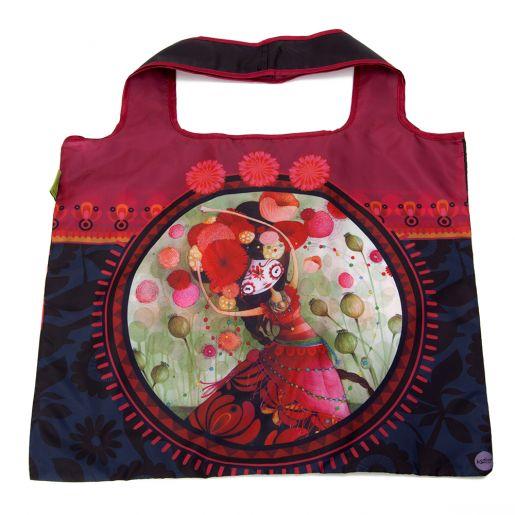 Sac d'Achats Repliable Catrina KETTO Foldable Shopping Bag Catrina // Polyester. Capacité de 10 kg. // Polyester. Capacity of 10 kg. // #SacRepliable #FoldableBag #Ketto