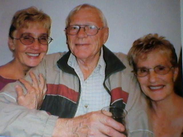 My Mom, Aunt and Uncle, Ria Wright, Helena Naude and Buks Botha