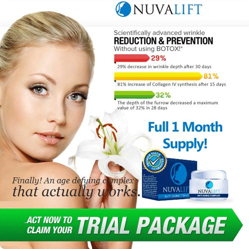 Nuva Lift is an against maturing cream which claims to give cure to all maturing signs. It is a progressive recipe which keeps up sound skin without the utilization of intrusive surgeries and unmanageable laser medications. know more> > http://nuvaliftfacts.com/
