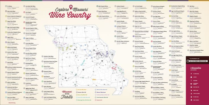 Introducing the New Missouri Winery Guide