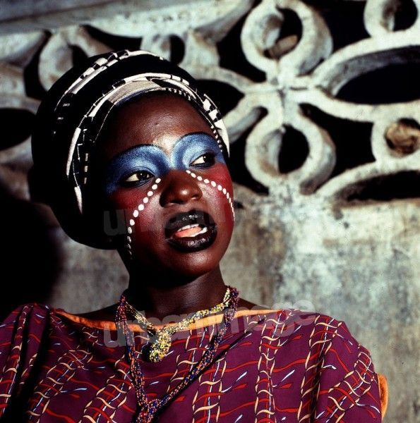 One of Fela Kuti's wives
