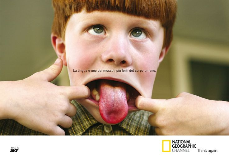 "Annuncio ""Lingua"" - National Geographica Channel"