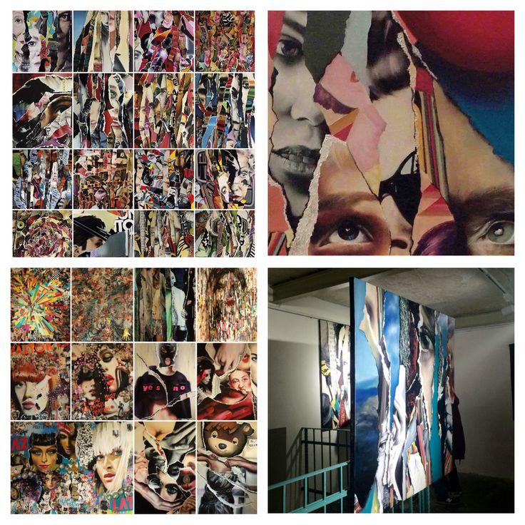 Zsuzsi Csiszér Paintings, oil on canvas pieces