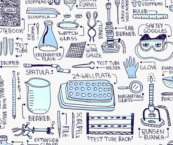 Printables Biology Laboratory Equipment 1 000 ideen zu lab equipment auf pinterest art print by rachelignotofsky on etsy