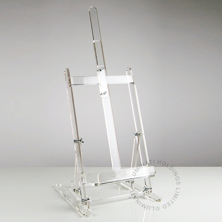 Acrylic Easel By Luminati Offices And Workspaces