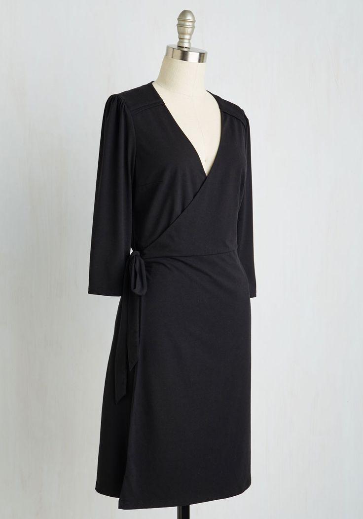 Living Lightheartedly SunDress. Black Wrap DressesDress ...
