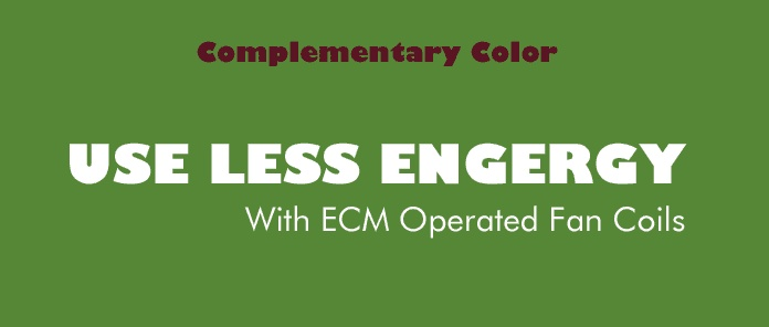 Font choice and complementary color demonstrationComplementary Colors, Colors Demonstrations, Mood Boards, Airtherm Mood