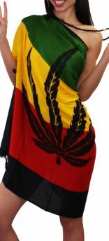 Rasta Shirt Dress