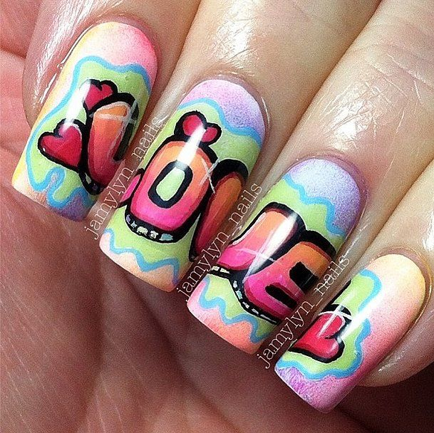 42 Crush-Worthy Valentine's Day Nail Art Ideas: One of the best parts about scrolling through our Instagram feed is seeing the bevy of nail art inspiration there.