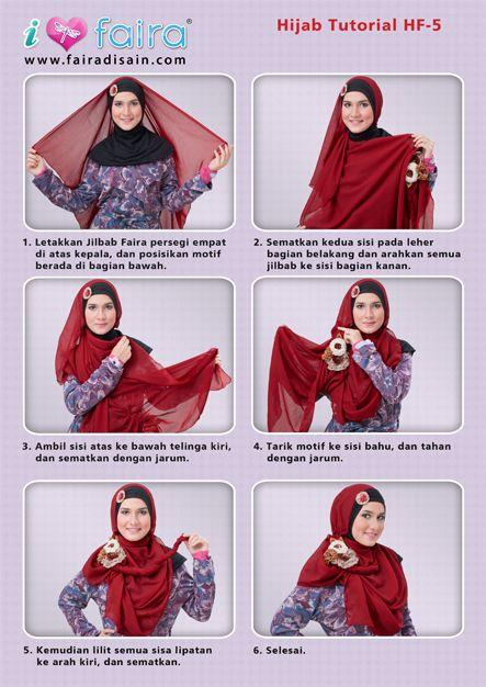 busana cantik faira tips memakai jilbab faira simple dan elegan dengan waktu kurang dari 5 menit,selamat mencoba
