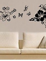 Wall Stickers Wall Decals, Flower Home Decorati... – AUD $ 20.01