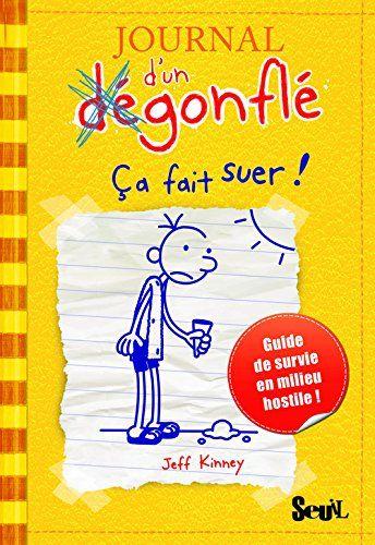 LE JOURNAL D'UN DEGONFLE Guide de survie en milieu hostile (tome 1 à 7), de Jeff Kinney - Ed. Seuil - A partir de 9 ans ♥