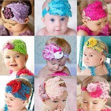Leuker!!! Nieuwe mode hete baby zuigeling peuter veer bloem diamant boog hoofdband haarband 300015-300023 zachte hoofddeksels