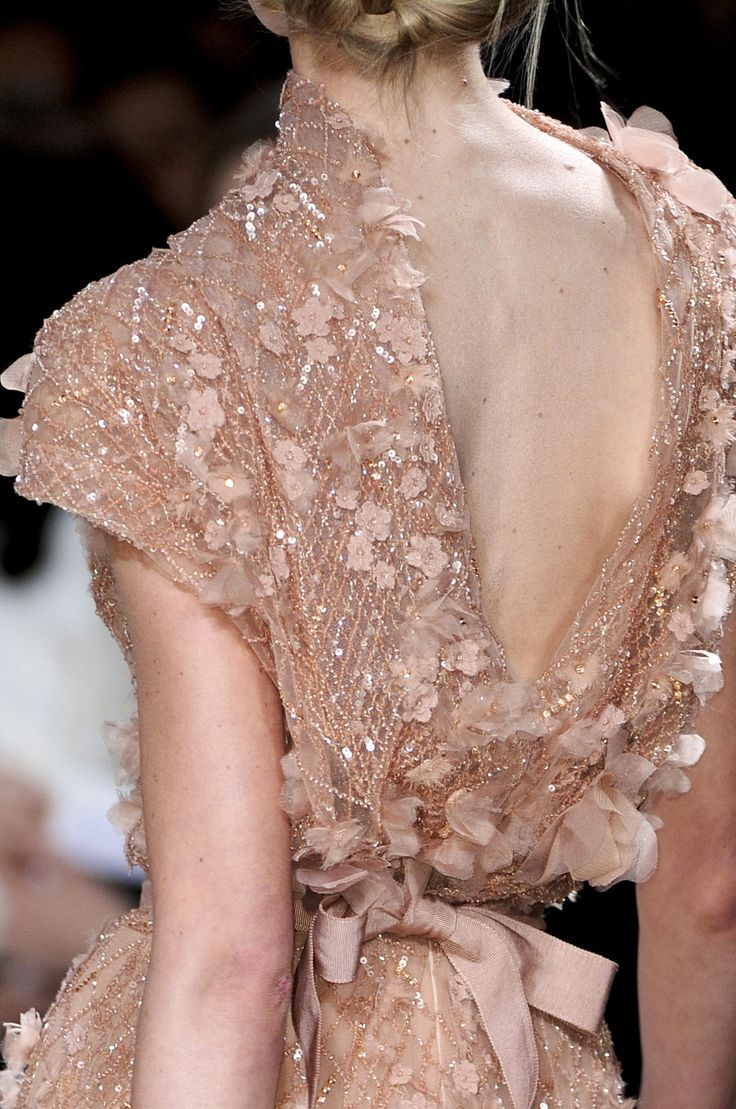 Elie Saab at Couture Spring 2011. love the color, love the femininity, love the fabric, love, love, love.