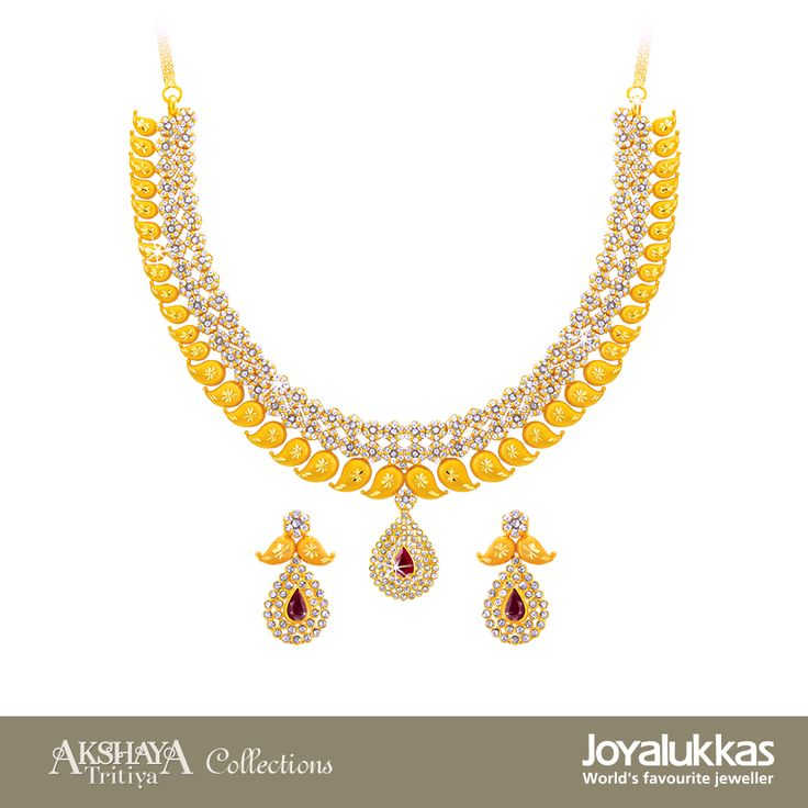 20 best joyalukkas jewellery collections images on pinterest necklaces joyalukkas akshaya trithiya collections aloadofball Image collections