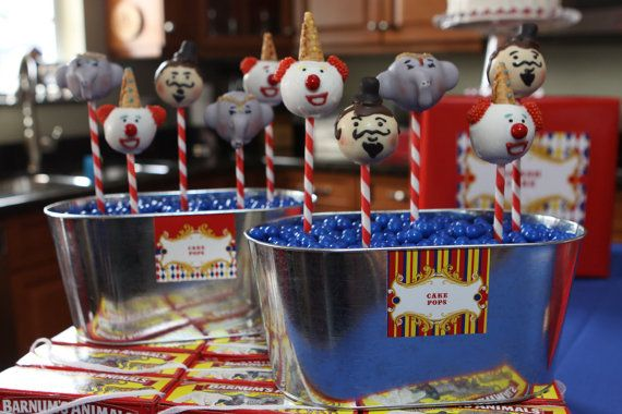 CIrcus cake pops..ambition