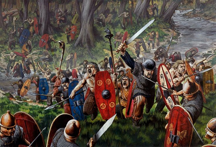 The Battle of the Sabis, also (arguably erroneously) known as the Battle of the Sambre or the Battle against the Nervians (or Nervii), was fought in 57 BC near modern Saulzoir in Northern France, between the legions of the Roman Republic and an association of Belgic tribes, principally the Nervii. Julius Caesar, commanding the Roman forces, was surprised and nearly defeated.