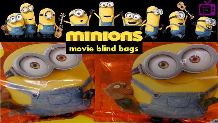 Minions Movie - The new Minion Movie blind bags.