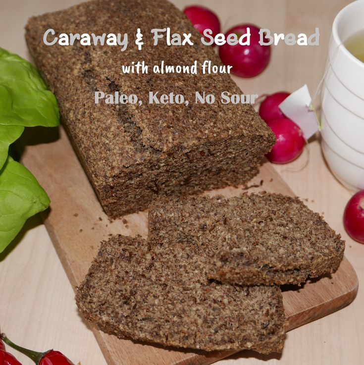 Absolutely fantastic paleo / keto bread which does not require souring.