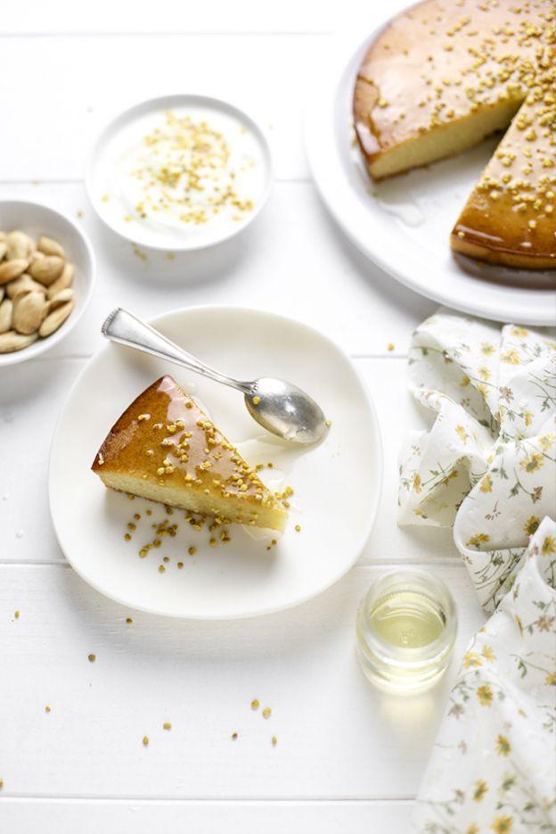 - VANIGLIA - storie di cucina: Torta di mandorle, miele e polline
