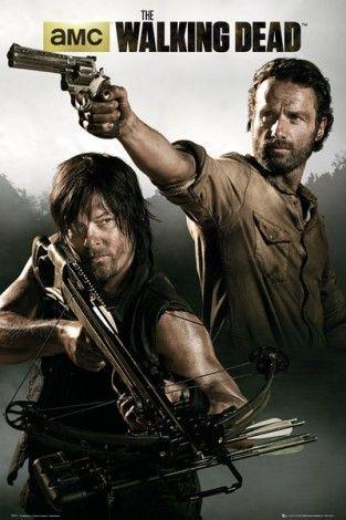 The Walking Dead / Żywe trupy Banner - plakat - 61x91,5 cm  Gdzie kupić? www.eplakaty.pl