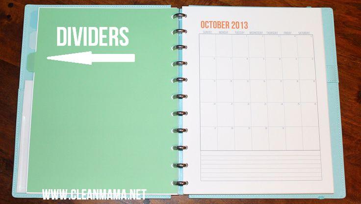 Homemade Calendar Cover : Best ideas about arc notebook on pinterest life