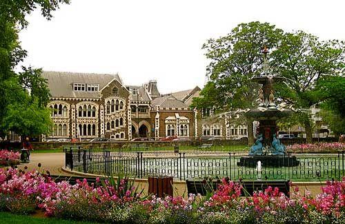 Botanic Gardens Christchurch