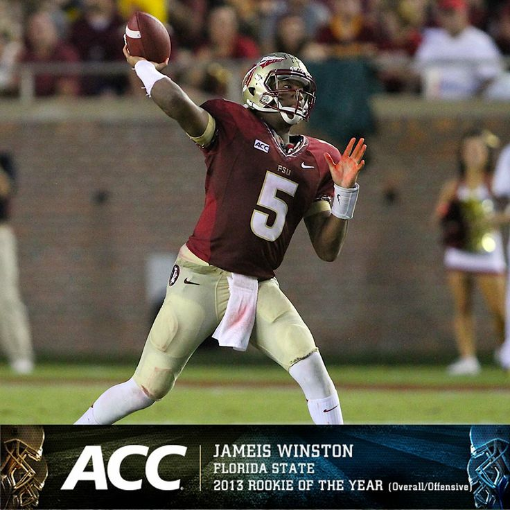 Rookie of the year, and Heisman Winner!!! Famous Jamies Winston