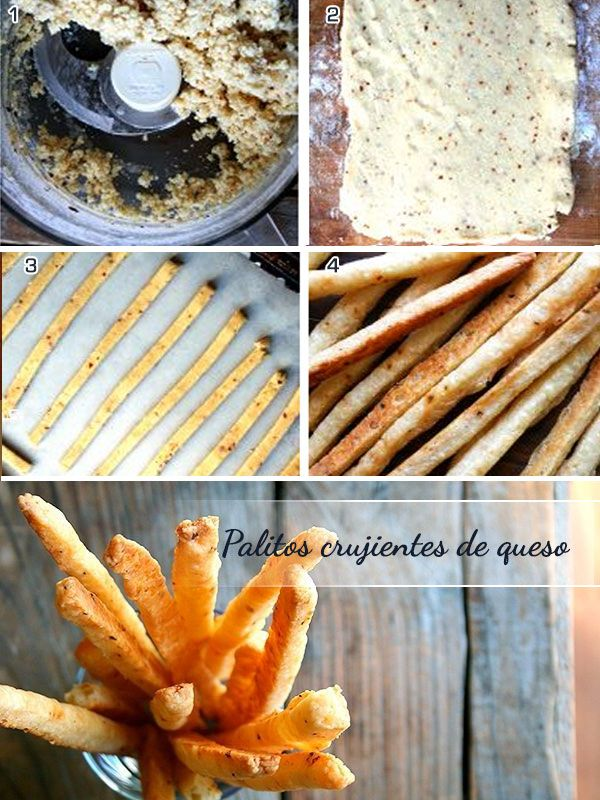 Crunchy cheese sticks - An easy and delicious recipe for your family party or gathering / Palitos crujientes de queso - Una receta fácil y deliciosa para tu fiesta familiar o reunión