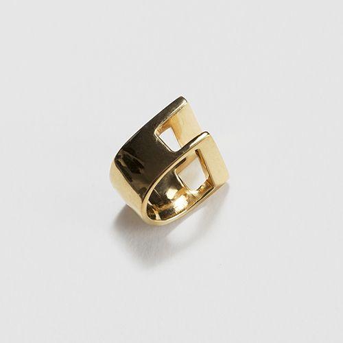 Jessie Harris Cutout Ledge Ring