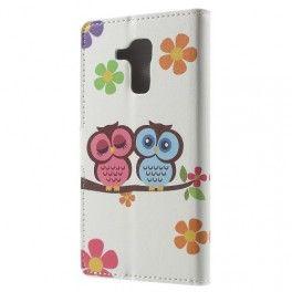Huawei Honor 7 Lite pöllöperhe puhelinlompakko