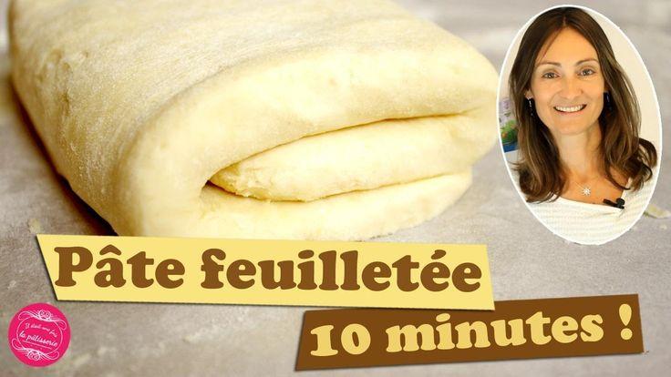 Recette de la PATE FEUILLETEE RAPIDE et FACILE en 10 mn top chrono ! #pate #feuilletée #video