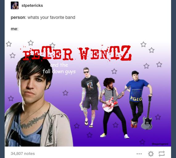 This sounds like a generic cereal version of Fall Out Boy