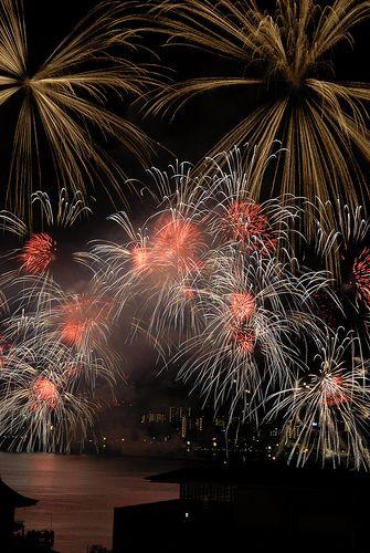 Fireworks #japan #shiga