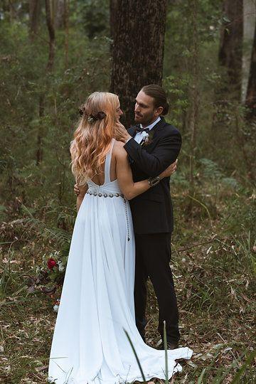 high neck wedding dress backless wedding dress minimal wedding cool bridal style
